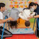 アワーキッズ湘南「専科体操」「園の生活」